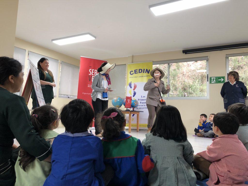 Cedin UdeC recibe proyecto que introduce valores ciudadanos a niños y niñas