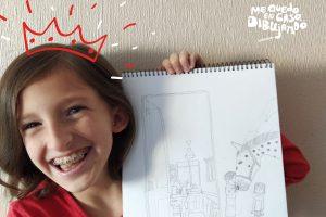 Concurso de dibujo online para niños y niñas presentó a sus primeros lugares