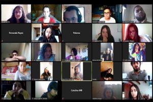 Facultad de Educación recibe a nuevos estudiantes con masiva videollamada