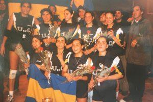 Mujeres UdeC y un remache a la historia: su primer título nacional de vóleibol en 1996