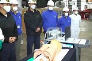 Ventilador ASMAR-UdeC, el primero en el país listo para su operación