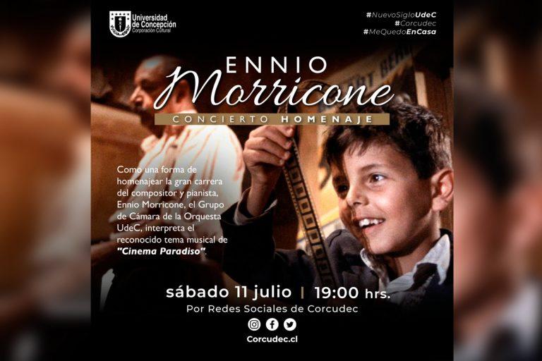 Sinfónica UdeC rinde homenaje a Ennio Morricone