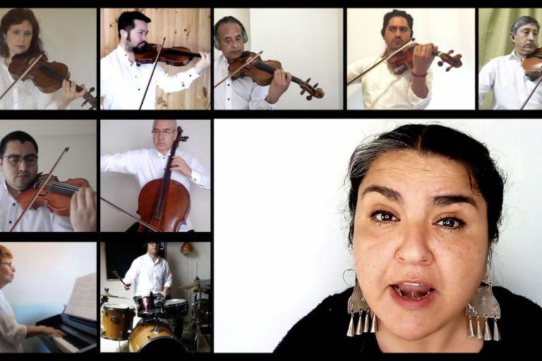 Sinfónica UdeC y Karen Wenül presentan «Arauco tiene una pena» en mapudungún