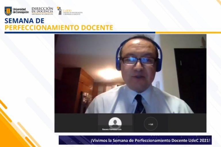 Destacadas actividades dieron vida a la Semana de Perfeccionamiento Docente UdeC 2021