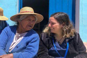 La enfermera UdeC que trabaja con comunidades rurales y enfrentó una crisis humanitaria