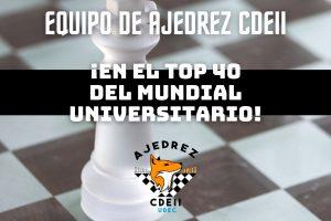 Rama Ajedrez de Ingeniería Industrial UdeC alcanza el top 40 en torneo internacional