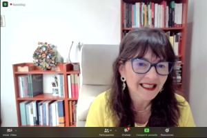 Dra. Ximena Gauché participa en instancia virtual relativa al proceso constituyente