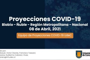 Equipo Covid-19 UdeC mantiene proyección de aumento de contagios durante la próxima semana