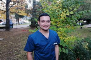 Joel Muñoz, el kinesiólogo comunitario de Contulmo