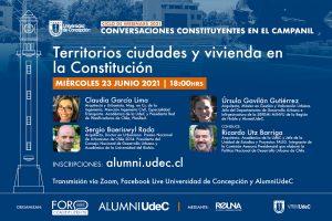 """""""Conversaciones Constituyentes en el Campanil"""" dialogará sobre territorios, ciudades y vivienda"""