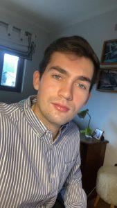Andrés Schaub, estudiante de Medicina