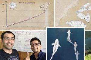 Descubren y revelan efectos del calentamiento global en peces