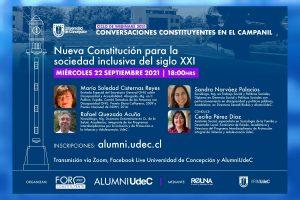 """«Conversaciones Constituyentes en el Campanil"""" dialogará sobre Inclusión en la nueva Carta Fundamental"""