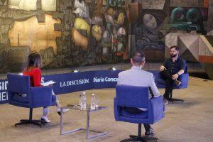 """Gabriel Boric en Medios UdeC: """"Hay que sacar a universidades de estrangulamiento del autofinanciamiento"""""""