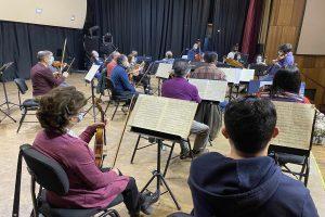 Obras para cuerda: orquesta sinfónica UdeC presenta concierto de cámara en vivo