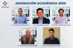 Cinco docentes de Ciencias Químicas UdeC se adjudican asignación académica 2020