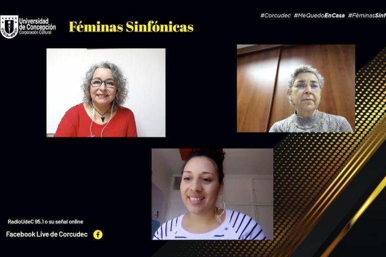 Indira Reinel es lainvitada a un nuevo capítulo de Féminas Sinfónicas