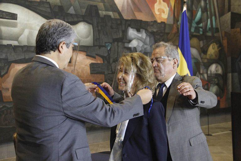 UdeC reconoce como Visita Distinguida a María Eugenia Sandoval Gouët: «Es un orgullo»